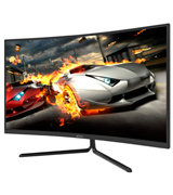 Viotek NV32Q 32-Inch Curved 4K Monitor