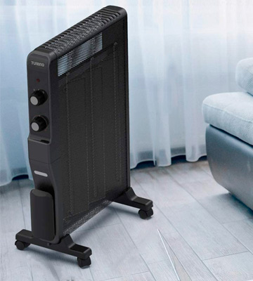 Review of TURBRO Arcade HR1500 micathermic Electric Mica Space Heater