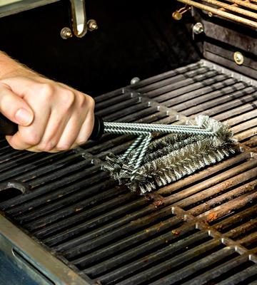 Review of Qually United BBQ Grill Brush