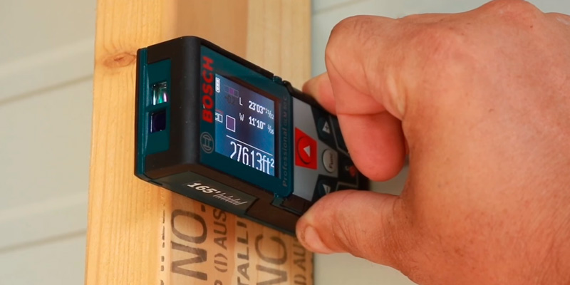 Bosch GLM 50 C Bluetooth Laser Distance Measurer in the use