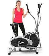 Plasma Fit Elliptical Machine Trainer 2 in 1