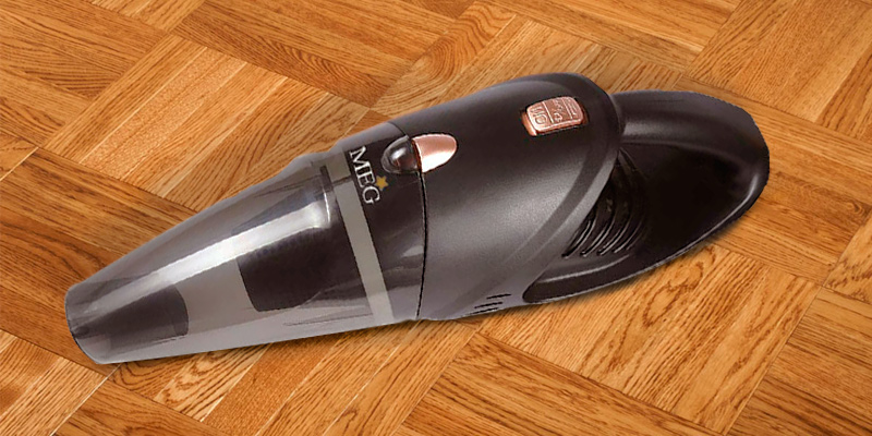 MEG Car Vacuum Handheld Cordless, Rechargeable, 106W Lithium Battery in the use
