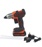 BLACK+DECKER Cordless Glue Gun System