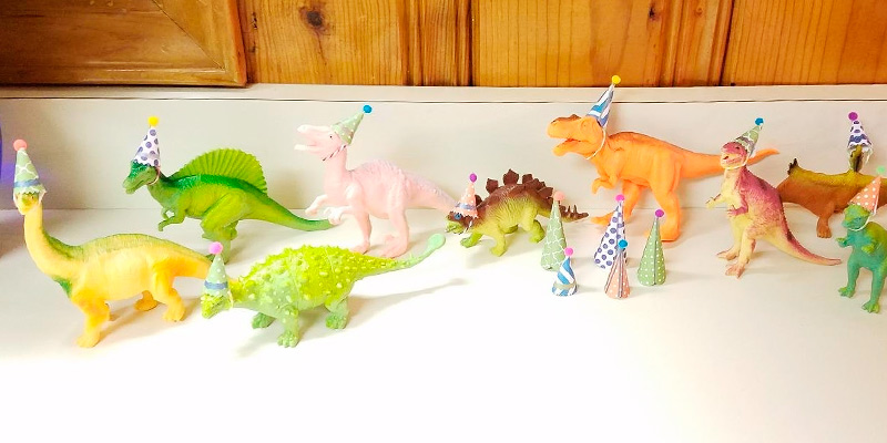 Review of Prextex Assorted Dinosaur Figures with Dinosaur Book