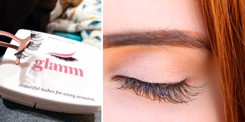 Review of Glamm Lashes Natural Look Magnet Lashes Kit with Applicator