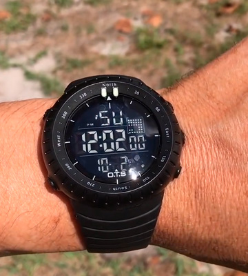 Review of PALADA T7005G Waterproof Tactical Watch