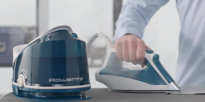 Rowenta DG7530 Steam Iron Station in the use