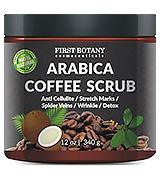 First Botany Cosmeceuticals Natural Arabica Coffee Scrub, Anti Cellulite Cream