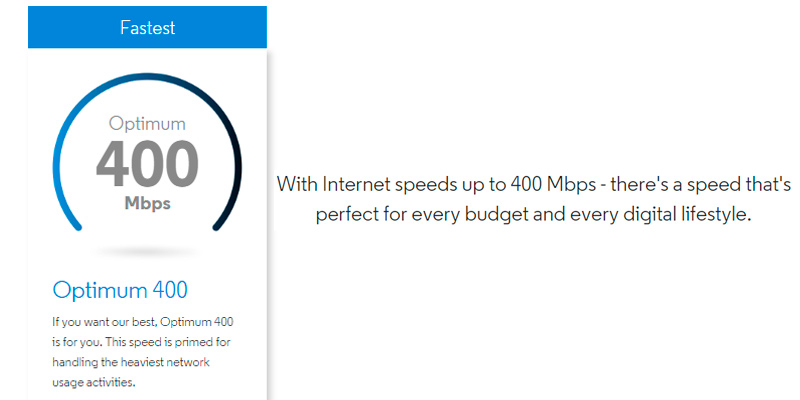 Detailed review of Optimum Internet Provider: TV, Internet, WiFi and Streaming Apps All In One