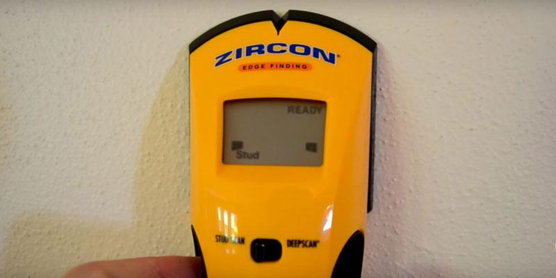 Review of Zircon e50 Edge Finding Stud Finder with Live AC WireWarning Detection