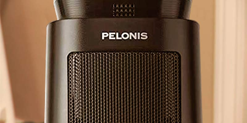 Pelonis Tower Fan Ceramic Heater in the use