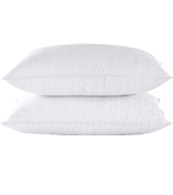 puredown Quilted Set of 2 Goose Feather and Down Pillow