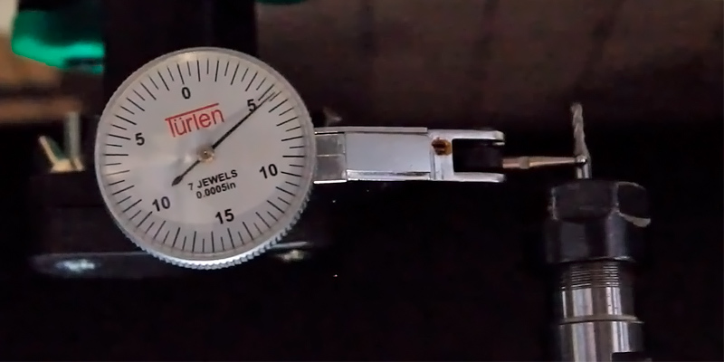 Review of Türlen AT203721 Precision Test Dial Indicator, 0-0.03""