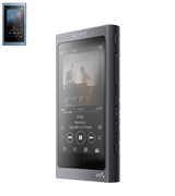 Sony NW-A45/B Walkman 16GB MP3 Player with Hi-Res Audio