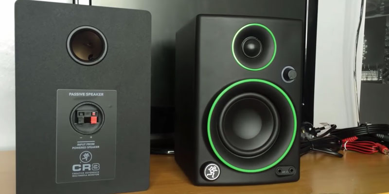 Review of Mackie CR3 CR Series Creative Reference Multimedia Monitors