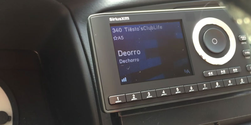 SiriusXM Onyx Plus Satellite Radio application