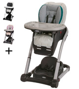 Graco Blossom 4-in-1 Seating System Convertible High Chair