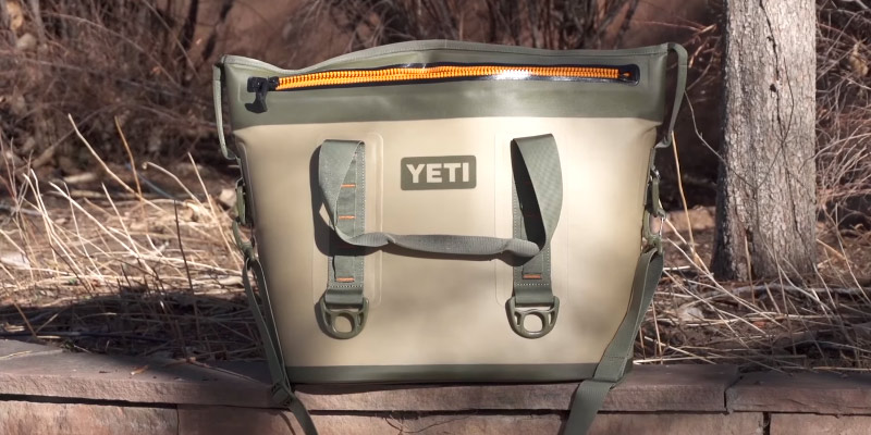 YETI Hopper Two 20 Portable Cooler in the use