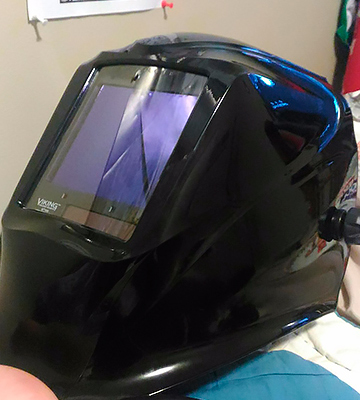 Review of Lincoln Electric VIKING 3350 Black Welding Helmet