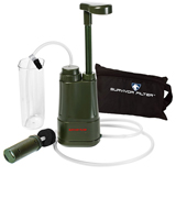 Survivor Filter PRO Water Filter for Camping, Hiking and Emergency