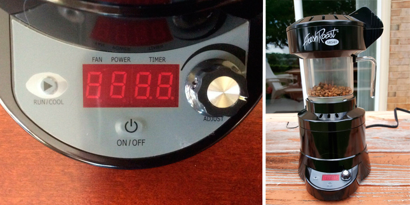 FreshRoast SR-540 Home Coffee Roaster in the use