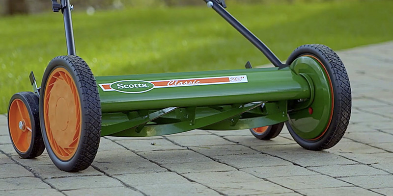 Detailed review of Scotts 2000-20 Classic Push Reel Lawn Mower
