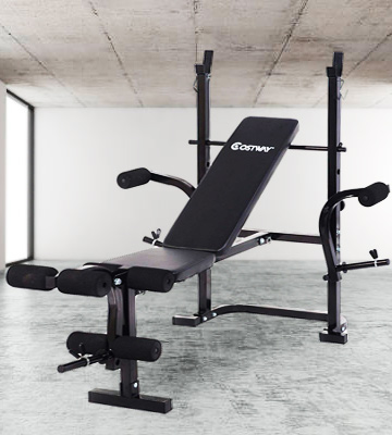 Review of Goplus Adjustable Adjustable Weight Lifting Multi-function Bench