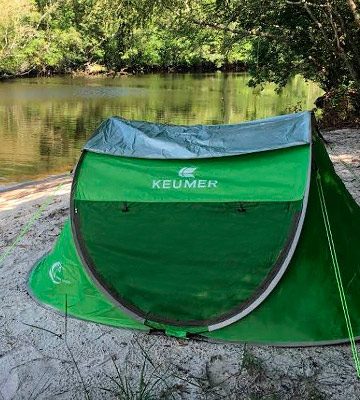 Review of ZOMAKE 4 Person Pop Up Tent, Beach Tent Sun Shelter