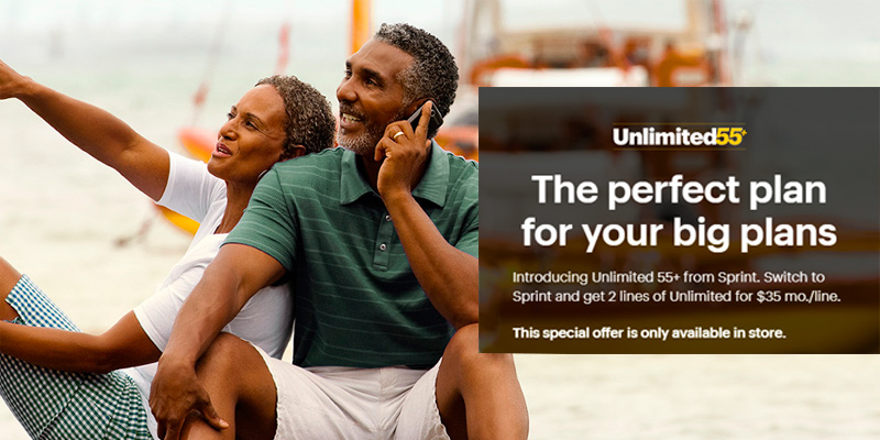Sprint Cell Phone Plans: 3 Unlimited Lines FREE! in the use