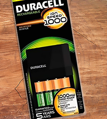 Review of Duracell Rechargeable Battery Charger