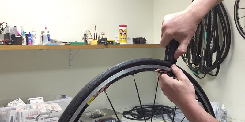 Venzo Road Bike Tire Inner Tubes in the use