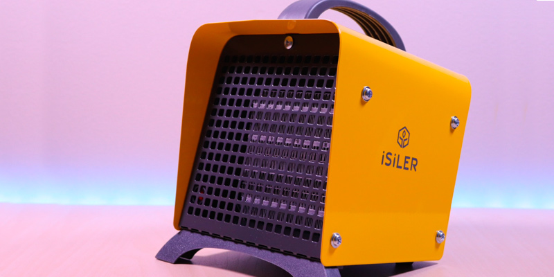 Review of iSiLER Ceramic Space Heater Portable Indoor Heater