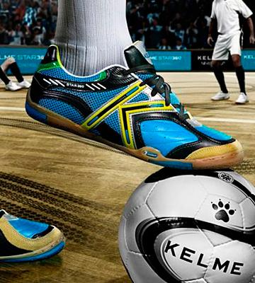 Review of Kelme Star 360 Michelin Leather Soccer Shoes