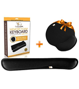CushionCare Keyboard Wrist Rest & Mouse Pad