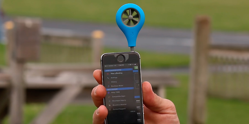 Review of Weather Flow WFANO-01 Wind Meter for Smart Phone