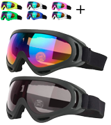 COOLOO Anti Fog Winter Skiing Sport Goggles