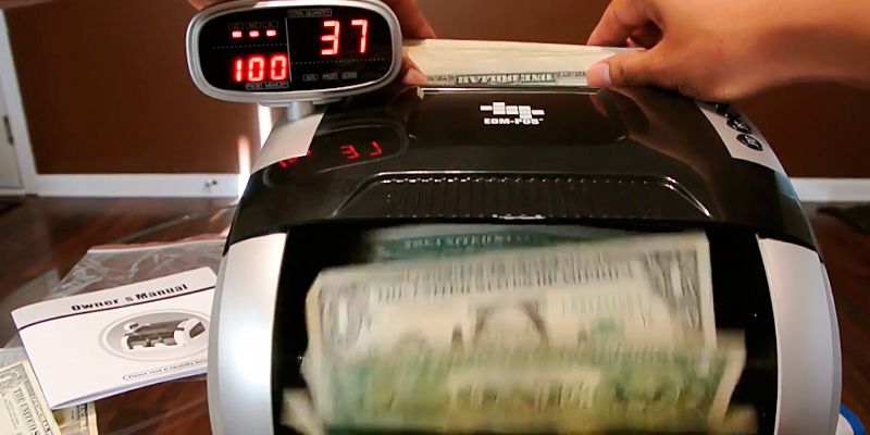 Review of Teraputics TK-950B Money Counter Elite w/Fast Count - UV/MG/IR Counterfeit