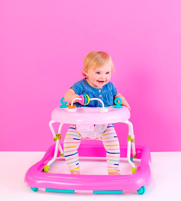 Review of Bright Starts Floral Friends Walker with Easy Fold Frame