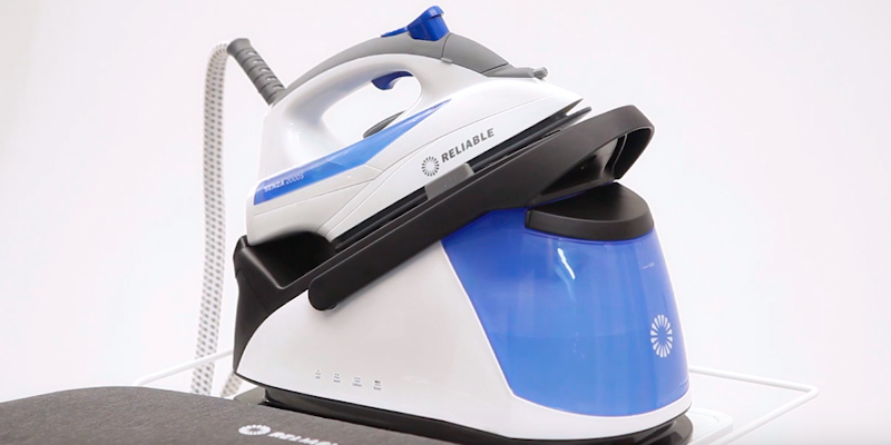 Review of Reliable 200DS 2-in-1 Home Steam Ironing System with Detachable Iron
