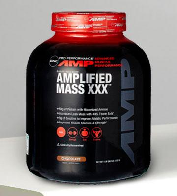 Review of GNC Pro Performance AMP Amplified Mass XXX Weight Gainer