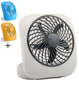 O2Cool FD05004 Portable Personal Desktop Battery Fan