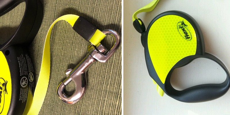 Detailed review of Flexi Neon Retractable Dog Leash