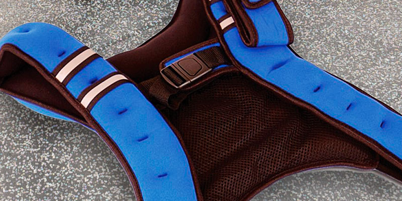 Tone Fitness Weighted Vest in the use