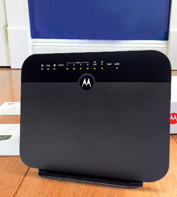 Review of Motorola MD1600 VDSL2/ADSL2+ Modem + WiFi AC1600 Gigabit Router