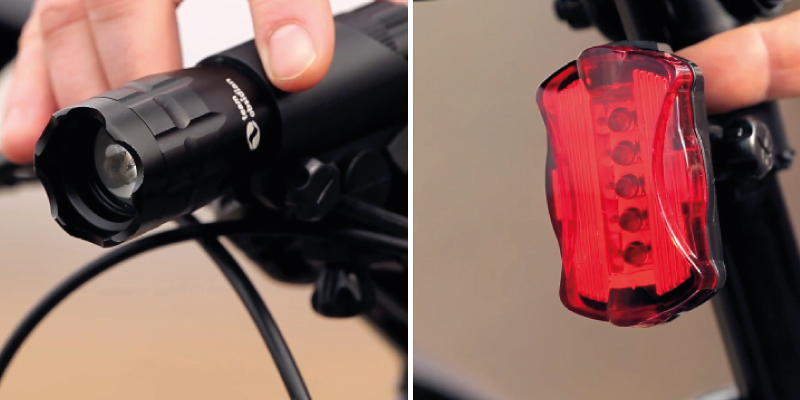 Review of TeamObsidian Super Bright Bicycle headlights Set