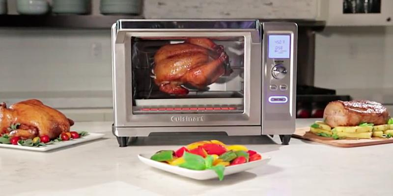 Cuisinart TOB-200 Rotisserie Convection Toaster Oven in the use