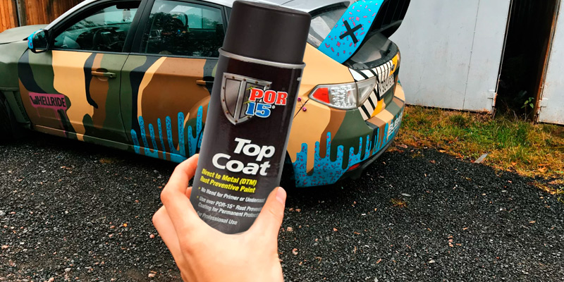 Review of POR-15 45918 Top Coat Chassis Black Spray Paint