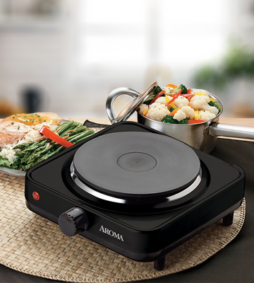 Review of Aroma Housewares AHP-303 Single Hot Plate