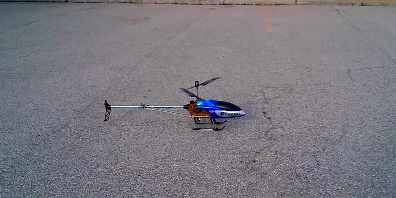 Review of G.T. Model QS8006 RC Helicopter Builtin GYRO
