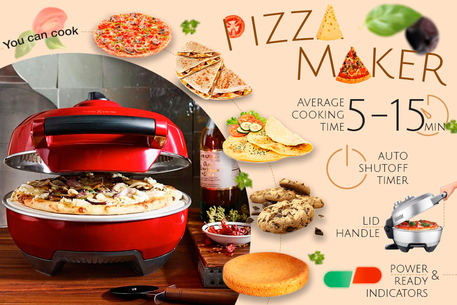 Comparison of Pizza Makers